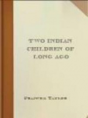 Two Indian Children Of Long Ago