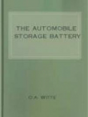 The Automobile Storage Battery
