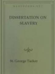 Dissertation on Slavery
