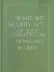 Homeland Security Act of 2002