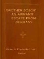 'Brother Bosch', an Airman's Escape from Germany