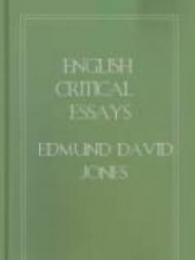 English Critical Essays