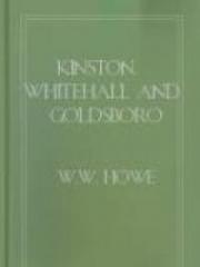Kinston, Whitehall and Goldsboro (North Carolina) expedition, December, 1862