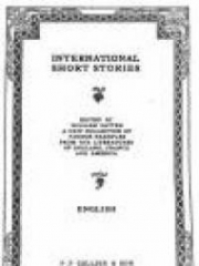 International Short Stories: English