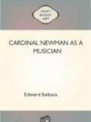 Cardinal Newman as a Musician