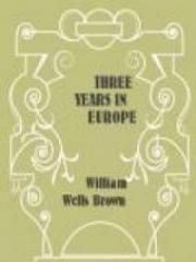 Three Years in Europe
