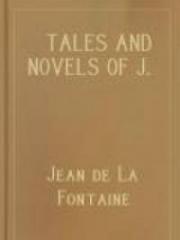 Tales and Novels of J. de La Fontaine
