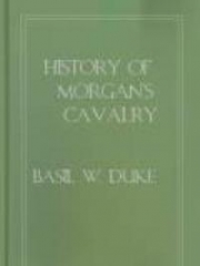 History of Morgan's Cavalry