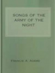 Songs of the Army of the Night