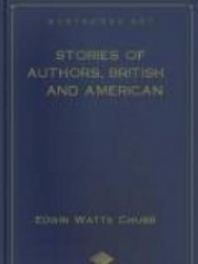 Stories of Authors, British and American