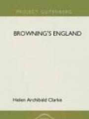 Browning's England