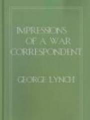 Impressions of a War Correspondent