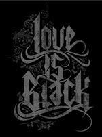 Love Is Black, Baby!