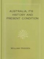Australia, its history and present condition