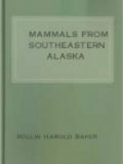 Mammals from Southeastern Alaska