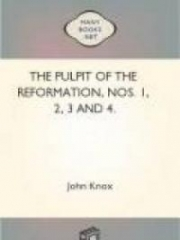 The Pulpit Of The Reformation