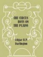 The Circus Boys on the Plains