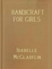 Handicraft for Girls