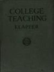 College Teaching