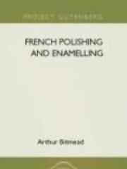 French Polishing and Enamelling