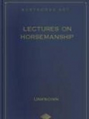 Lectures on Horsemanship