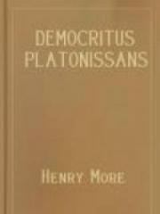 Democritus Platonissans