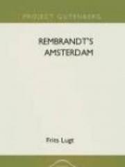 Rembrandt's Amsterdam