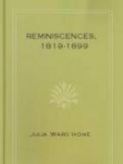 Reminiscences, 1819-1899