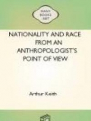 Nationality and Race from an Anthropologist's Point of View