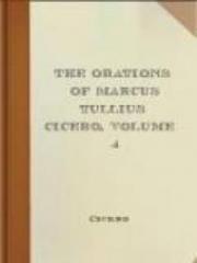 The Orations of Marcus Tullius Cicero
