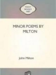 Minor Poems by Milton