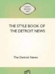 The Style Book of The Detroit News