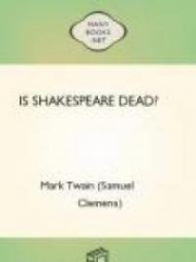 Is Shakespeare Dead?