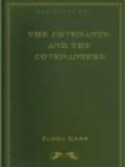 The Covenants And The Covenanters