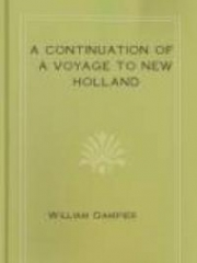 A Continuation of a Voyage to New Holland, Etc. in the Year 1699