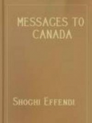Messages To Canada