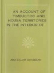 An Account Of Timbuctoo And Housa Territories In The Interior Of Africa